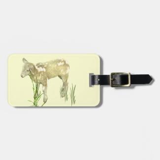 Sweet Lamb Luggage Tag