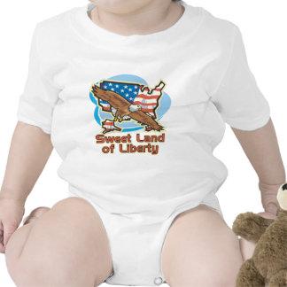 Sweet Land of Liberty Bodysuits