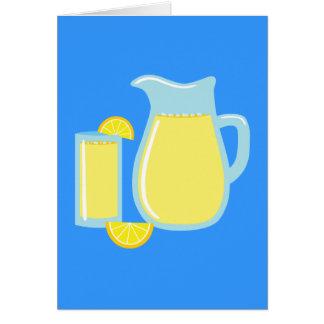 Sweet Lemonade Greeting Card