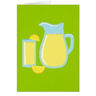 Sweet Lemonade Card