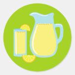 Sweet Lemonade Classic Round Sticker