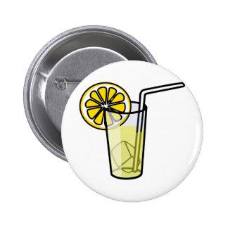 Sweet lemonade pinback button