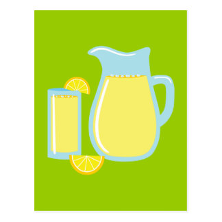 Sweet Lemonade Postcard