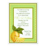 Sweet Lemons Birthday Invitations
