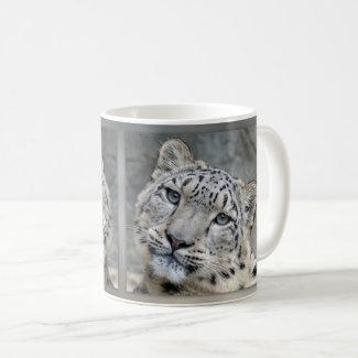 Sweet Leopard Big Cat Mug