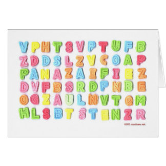 Sweet Letters Card