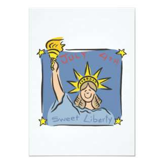 Sweet Liberty Card