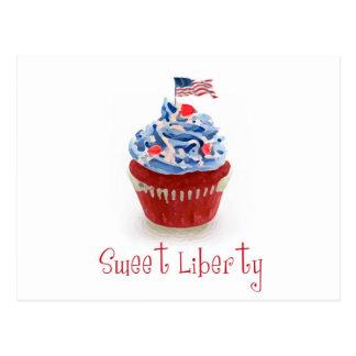 Sweet Liberty Postcard