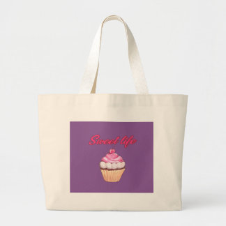 Sweet life large tote bag