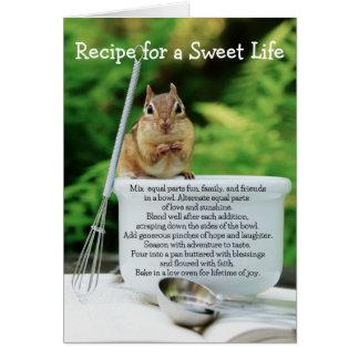 Sweet Life Little Chipmunk Card