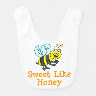 Sweet Like Honey baby bib