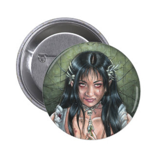 Sweet Like Poison Gothic Button