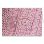 Sweet Lil Baby Sweater Greeting Card
