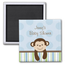 Sweet Lil Monkey Party Favor Magnets