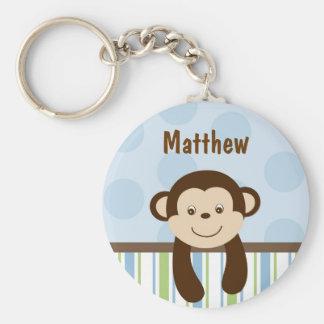 Sweet Lil Monkey Personalized Key Chain
