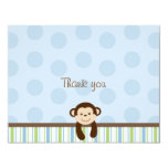 Sweet Lil Monkey Thank You Note Cards