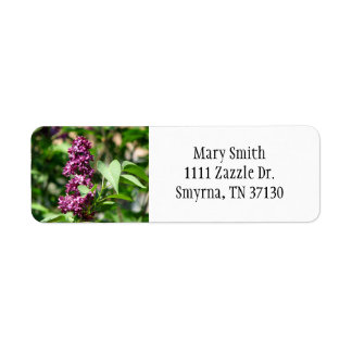 Sweet Lilac Label