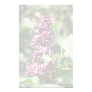Sweet Lilac Stationery