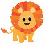 Sweet Lion Standing Photo Sculpture