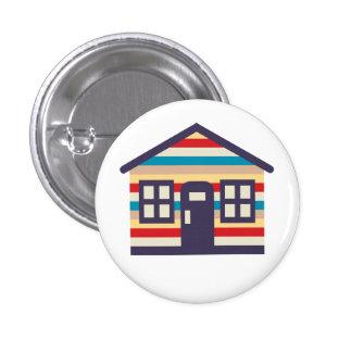 Sweet Litte Dream House 1 Inch Round Button