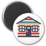 Sweet Litte Dream House 2 Inch Round Magnet
