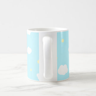Sweet little angel blue.ai coffee mug