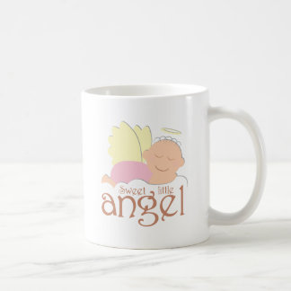 Sweet little angel logo coffee mug