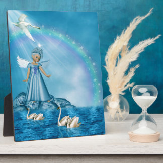 Sweet Little Angel Plaque