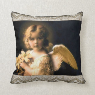 Sweet Little Angel Throw Pillow