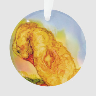 Sweet Little Baby Chick Ornament