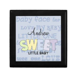 Sweet Little Baby-Personalize Name Gift Box