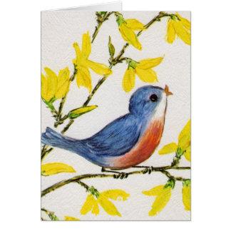 Sweet Little Bird Notecard