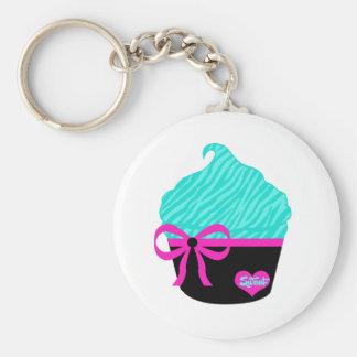 Sweet Little Cupcake Basic Round Button Keychain