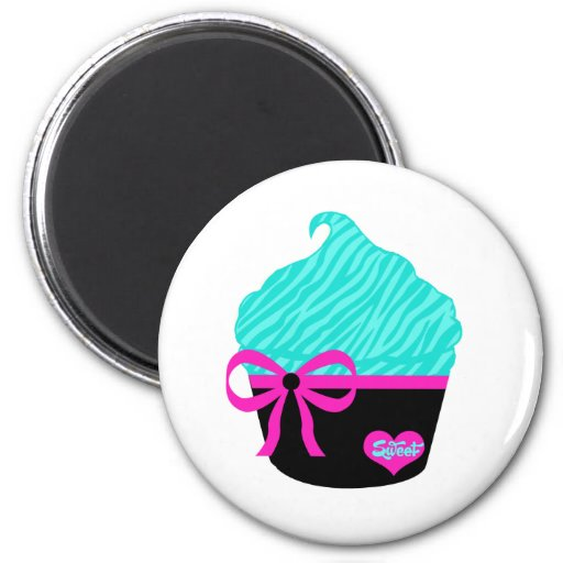 Sweet Little Cupcake Fridge Magnets