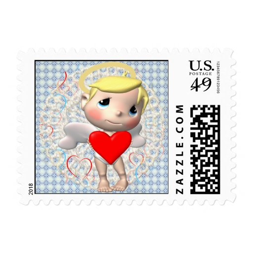Sweet Little Cupid Postage