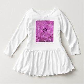 sweet little cupid, purple dress