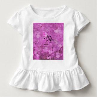 sweet little cupid, purple toddler t-shirt