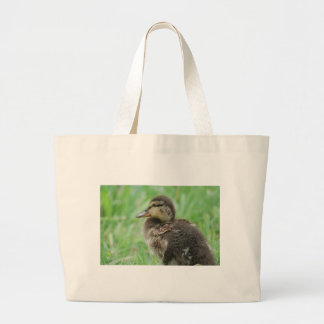Sweet little duckling large tote bag