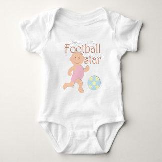 Sweet little football star Jersey Bodysuit