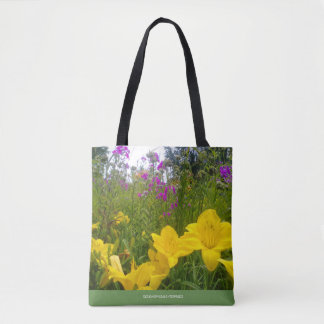 SWEET LITTLE GARDEN TOTE! TOTE BAG