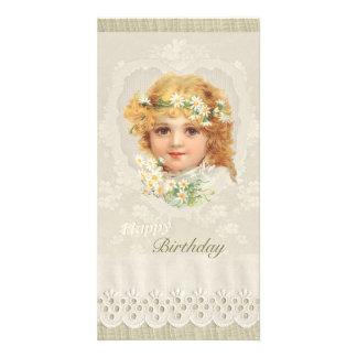 Sweet little girl CC0135 Ellen Clapsaddle Birthday Card
