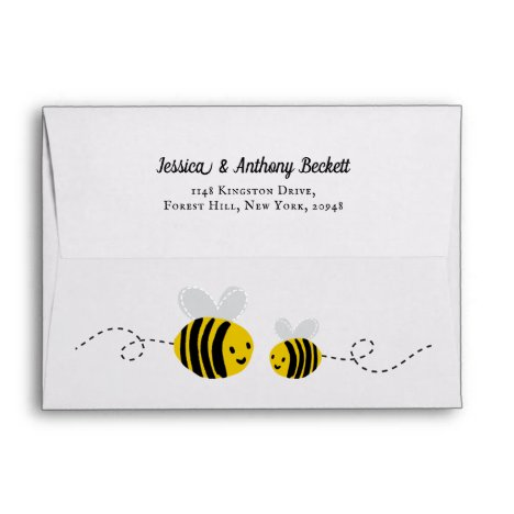 Sweet Little Honey Bee Envelope