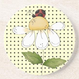 Sweet Little Ladybug Amazing Thirsty Coaster