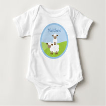 Sweet Little Lamb Baby T-Shirt