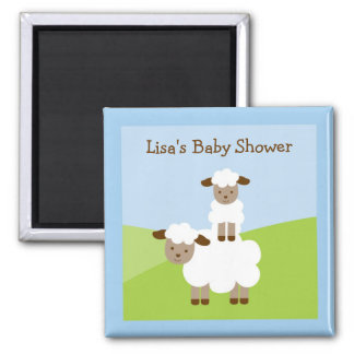 Sweet Little Lamb Party Favor Magnets