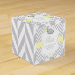 Sweet Little Peanut  Elephant Baby Shower Favor Box