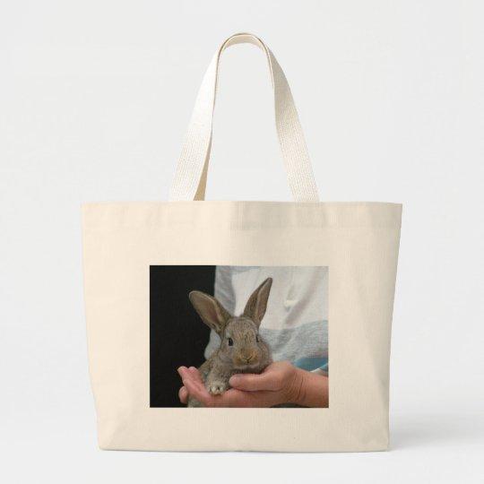 sweet little rabbit large tote bag