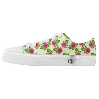Sweet Little Roses Low-Top Sneakers