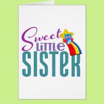 Sweet Little Sister Card