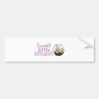 Sweet Little Succulents Bumper Sticker